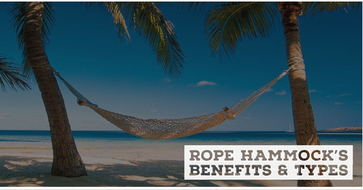 Rope Hammock's Benefits