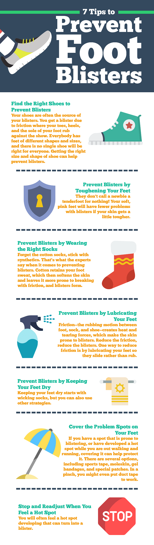 Prevent Foot Blisters