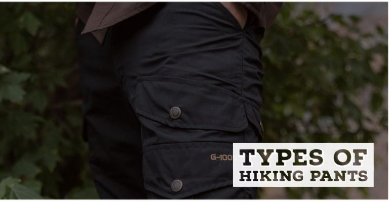 types of hiking pants